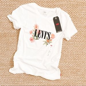 LEVI'S Graphic Short Sleeve Tee Cactus Flower